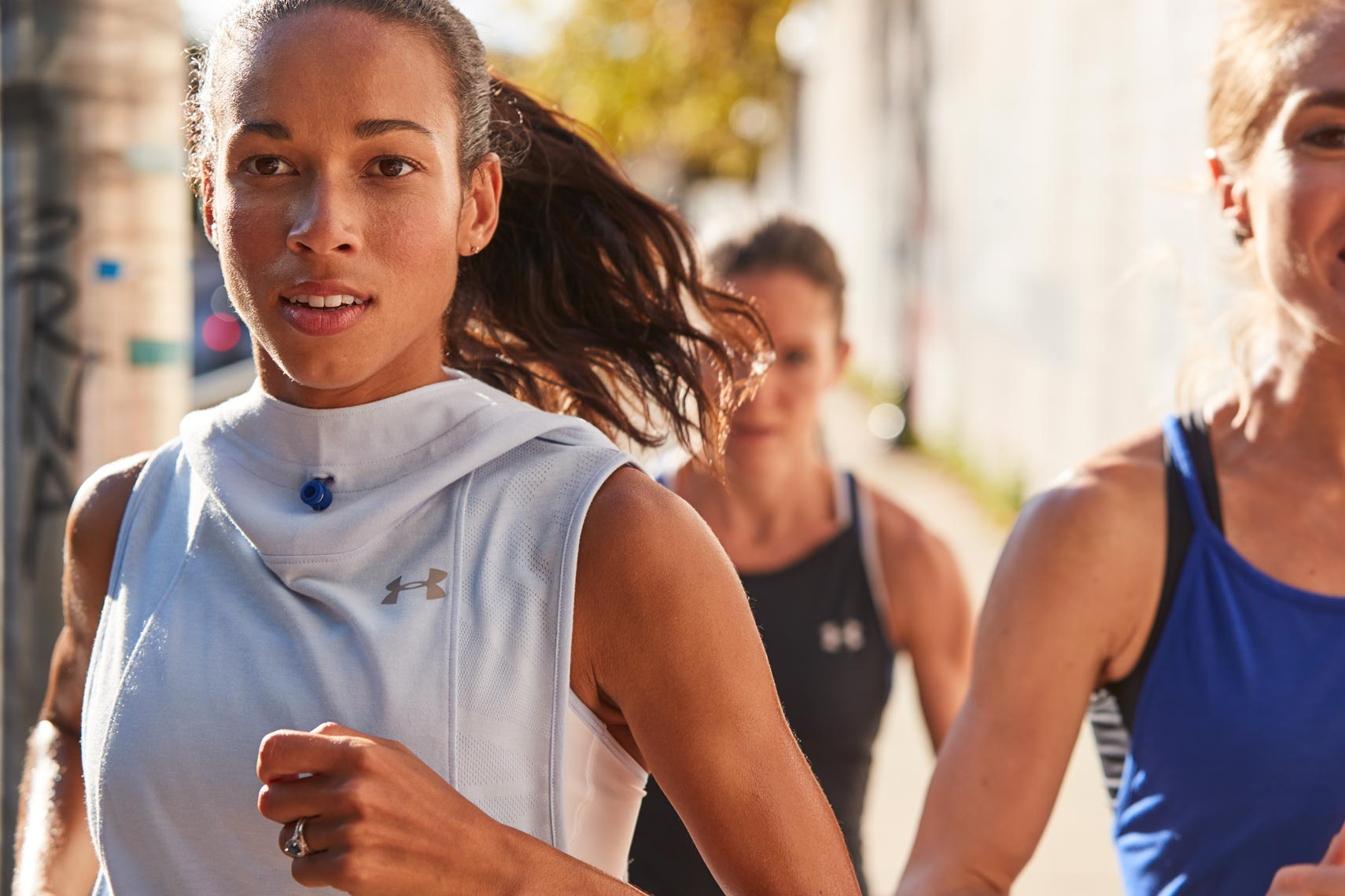 Aisha Praught Leer - Under Armour Run