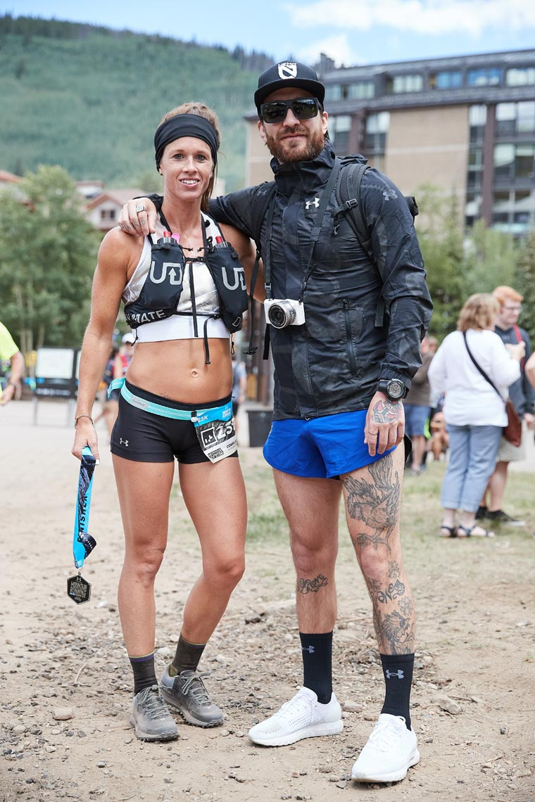 Crystal Seaver & Kyle Dietz - Under Armour - Mountain Run Series