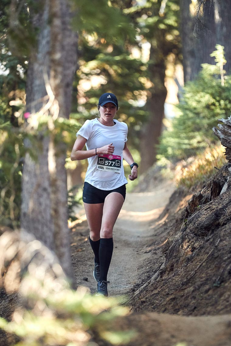 Hannah Tropf - Under Armour - Mountain Run Series