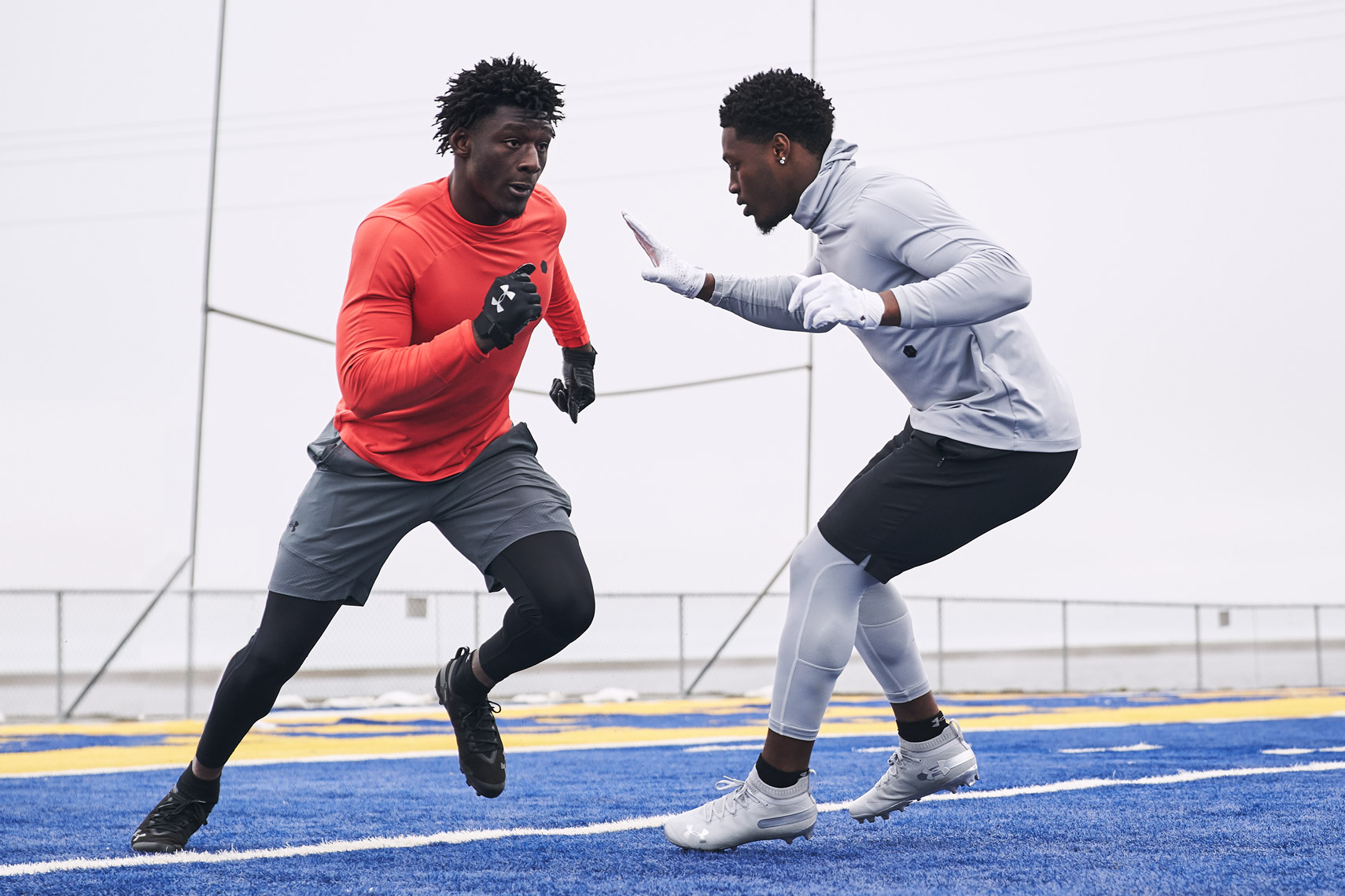 Darnell Savage & Riley Ridley - Under Armour